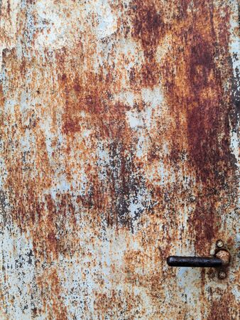 rusty metal texture pattern plate blue brown background seamless background