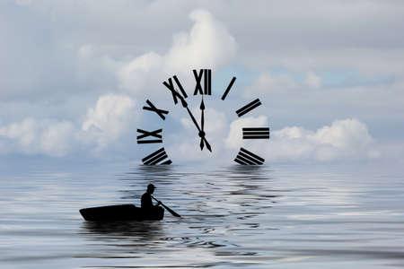 Wasser der Zeit Standard-Bild - 71979158