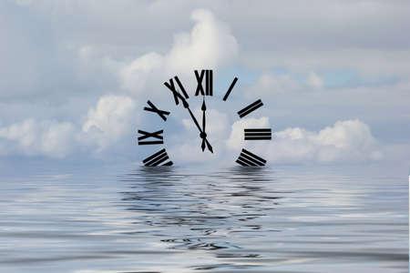 時間の海 写真素材