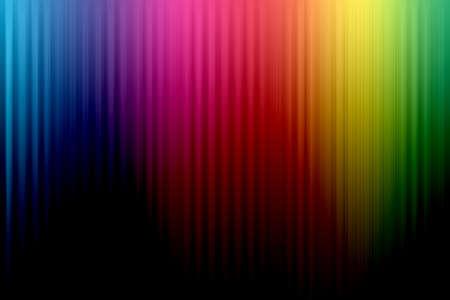 虹並ぶ背景