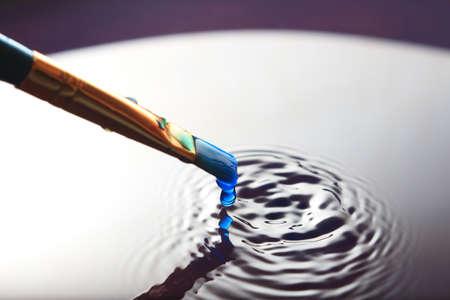 Paintbrush Splatter