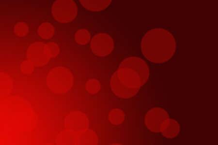 Abstract red bokeh background Reklamní fotografie