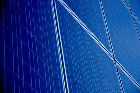 A close up of a solar array Imagens - 20986311