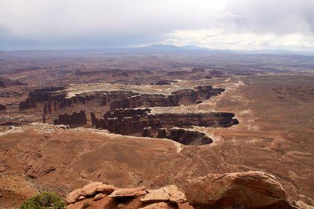 canyonlands: landscape at Canyonlands