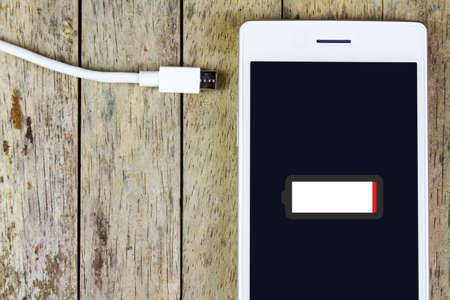 charge: smart phone need to charge battery