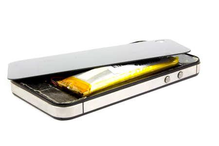 swollen: battery smartphone is swollen