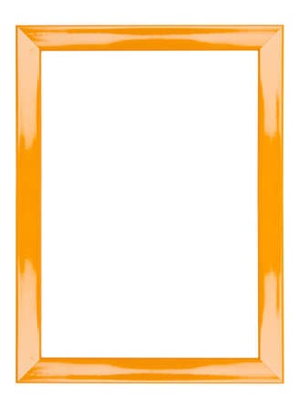 orange frame abstract background