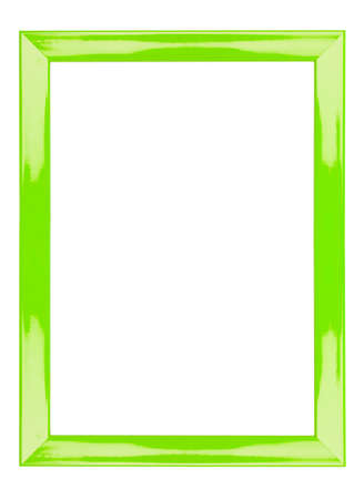 green frame abstract background