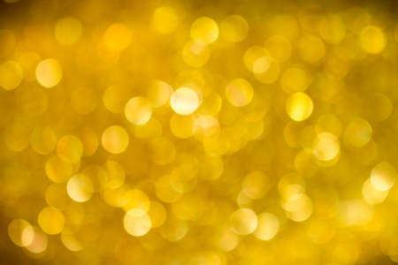 abstract gold bokeh background vignette corner
