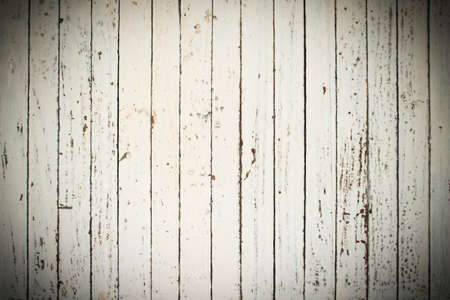 Darked Vignette white wood surface abstract background Stock Photo