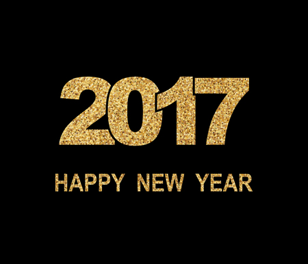 Happy New Year 2017. New Year background