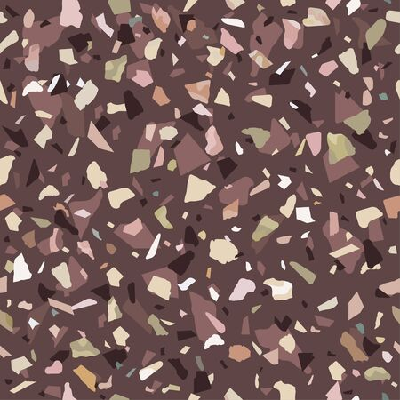 Granite stone texture. Abstract background, seamless pattern. Great for print and fabric. Vector illustration. Foto de archivo - 127906498