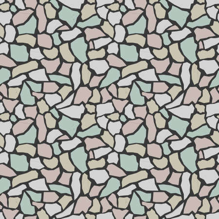 Mosaic tile texture. Abstract background, seamless pattern. Great for print on fabric and wrapping paper.