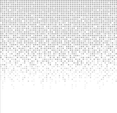 Modern technology background. Abstract gray squares on white background. Seamless pattern vector illustration. Ilustracja