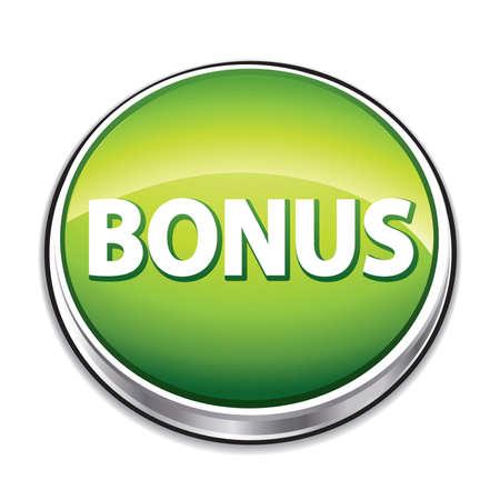 e commerce icon: Bot�n verde bono.