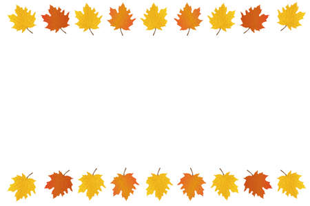 Autumn background. Marketing gold halloween or thanksgiving vector frrame banners.
