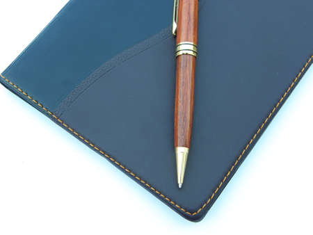 Diary and pen