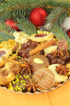 winter cookies Stock Photo