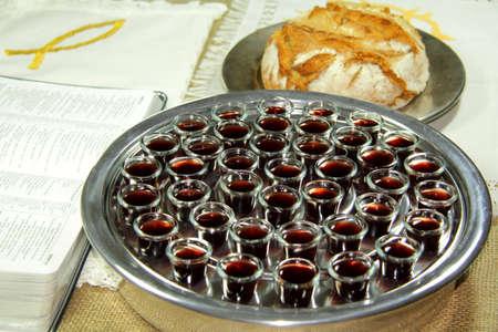 holy communion: Comuni�n Foto de archivo