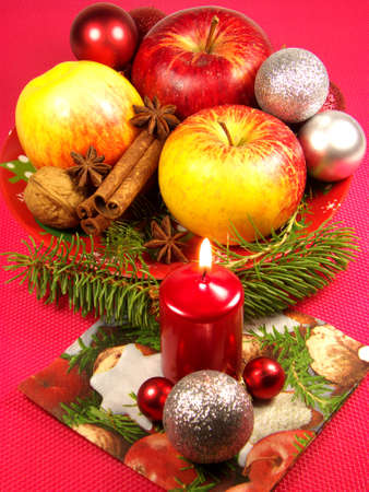 Christmas red decoration