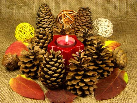 Pinecone Christmas ornament