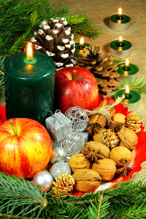 Christmas still life Stock Photo - 17357777