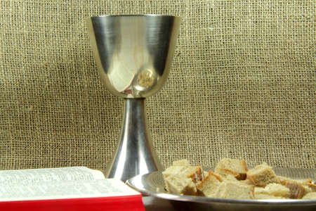 The sacrament of Holy supper photo