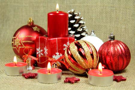 Red season decoration