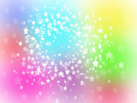 Colorful star shape background photo