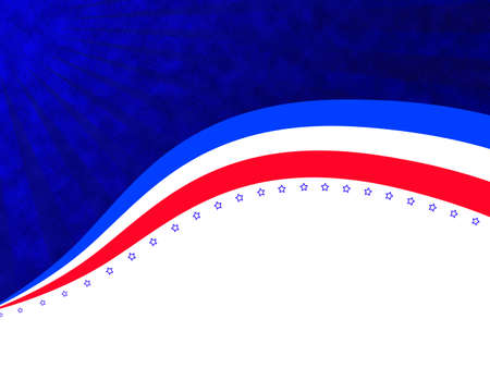 American independence day abstract background photo