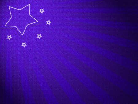 Christmas star abstract design