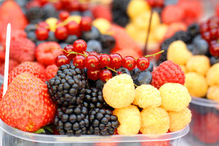 Summer delicious fruits photo