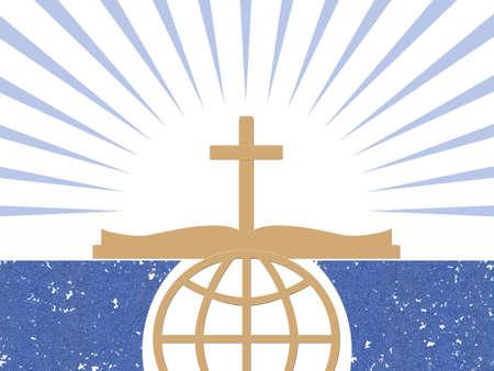 Christian abstracte symbolen Stockfoto