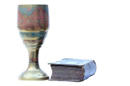 Christian symbols Stock Photo