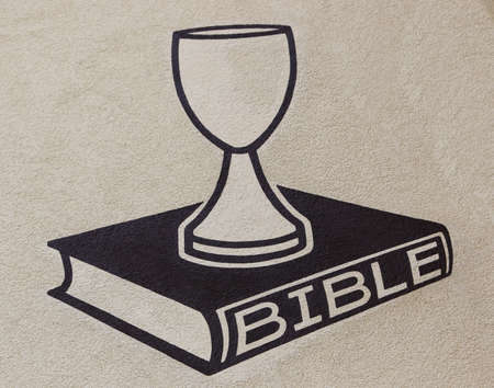 Chalice and bible photo