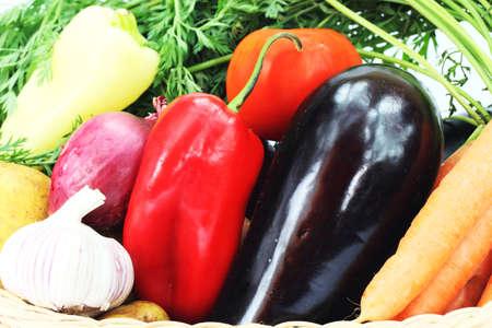 Autumn vegetables Stock Photo
