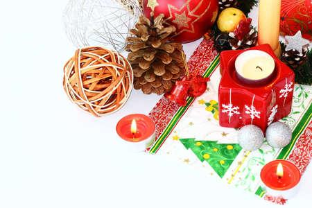in december: December ornament Stock Photo