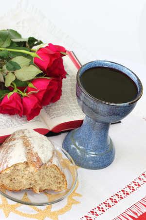 santa cena: Recordar Sacrificio