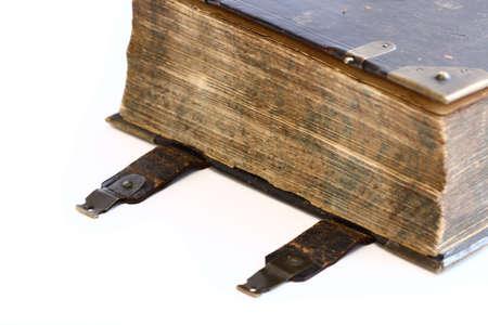 testament schreiben: Antike religi�se Buch Lizenzfreie Bilder