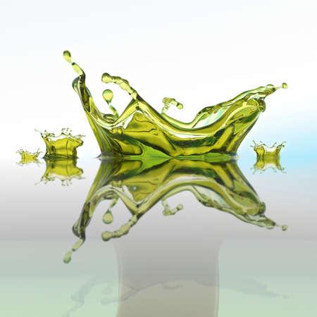 Goccia olio oliva