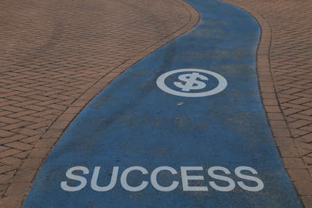 signposted: Footpath signposted for success
