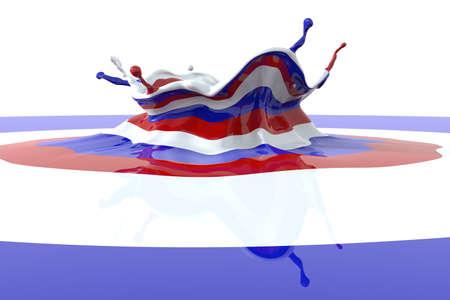 liquid state: Splash color France