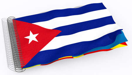 flag Cuba Stock Photo