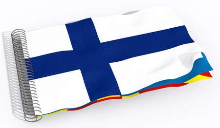 finland: flag Finland