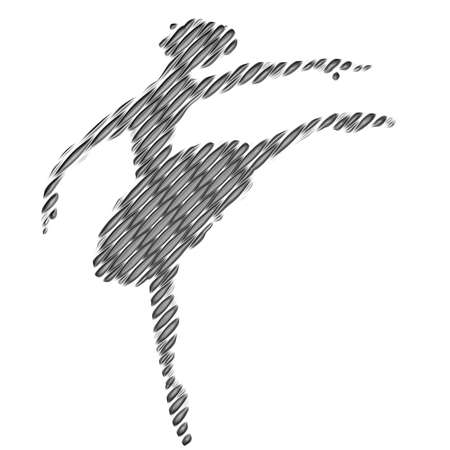 ballerina silhouette: Ballerina silhouette