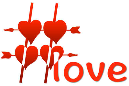 aggregator: Hashtag love 3D