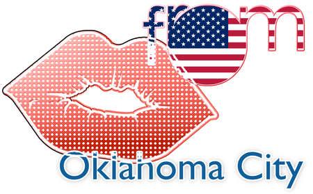 oklahoma city: Kiss from Oklahoma City