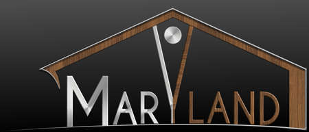 immobile: Maryland building with metal and wood profile