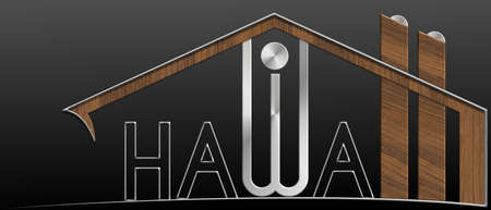 immobile: Hawaii building with metal and wood profile