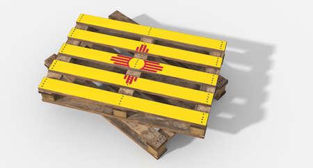 icona: Pallet 3D New Mexico flag